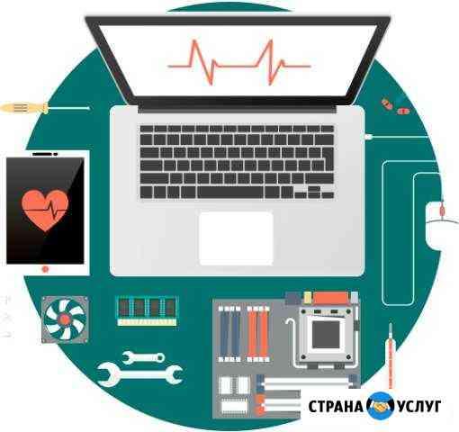 Ремонт компьютеров, ноутбуков, заправка картриджей Тюмень