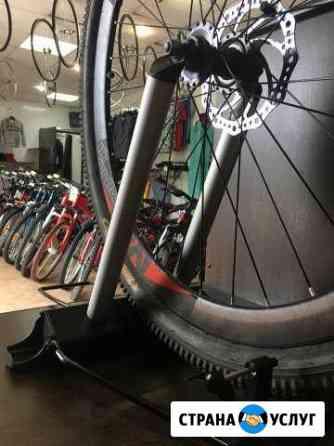 Правка восьмёрок на велосипедных ободах Назарово