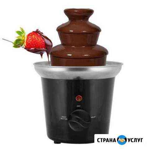 Шоколадный фонтан, аренда Сургут