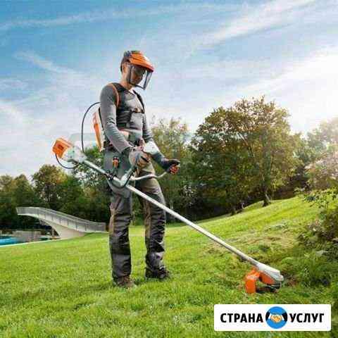 Покос травы Иркутск