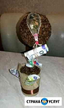 Принимаю заказы на сувениры,топиарии,парящие чаши Ульяновск