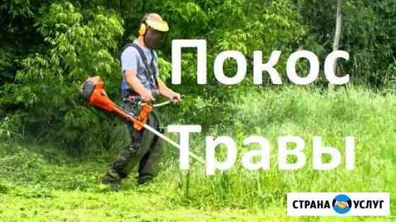 Покос травы Калининград