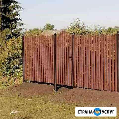 Установка заборов Мичуринск