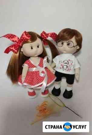 Текстильные интерьерные куклы на продажу и заказ Лиски