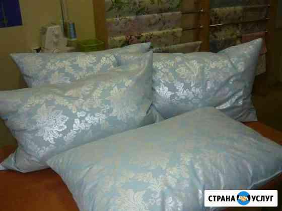 Реставрация пухо-перовых подушек, одеял, перин Калининград