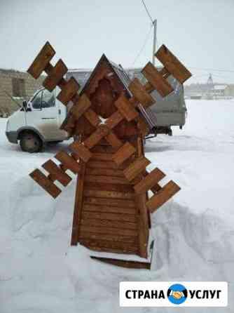 Мельница из дерева Азово