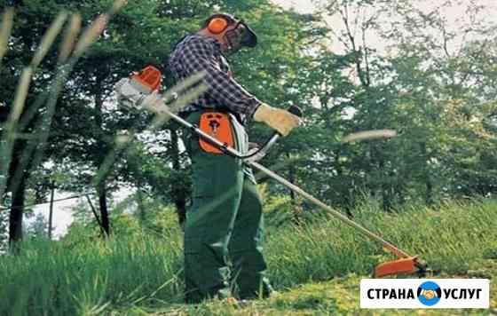 Скос, покос травы Черемхово