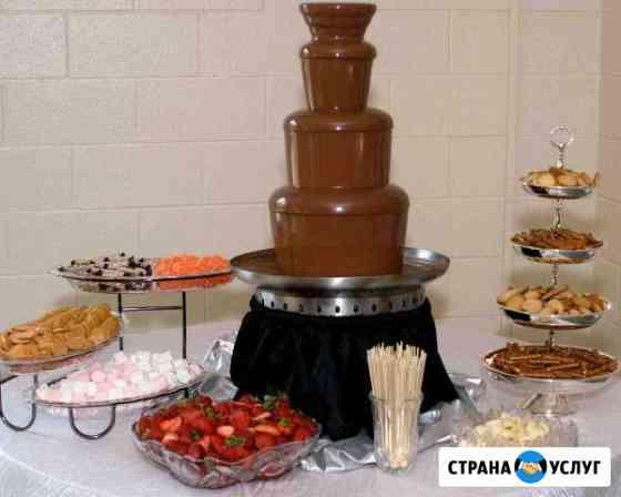 Шоколадный фонтан Урай
