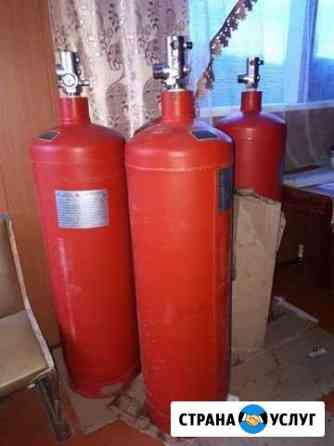 Баллоны,огнетушители,система пожаротушение,вывоз,у Ульяновск