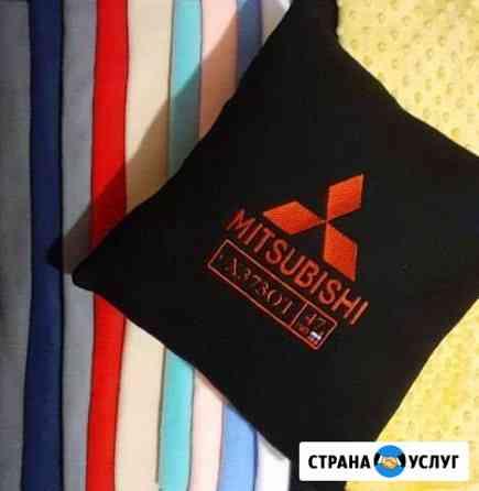 Машинная вышивка на заказ Воронеж