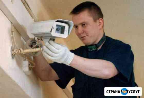 Видеонаблюдение. Видеодомофон Казань