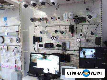 Установка видеонаблюдения и домофонов в Каспийске Каспийск