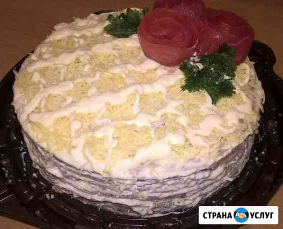 Печеночный тортик Тюмень