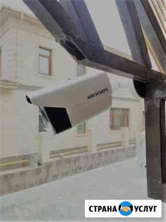 Установка видеонаблюдения по тех.заданию Новокубанск