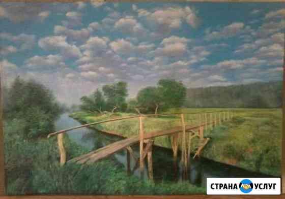 Роспись картин,стен,пейзажей Лениногорск