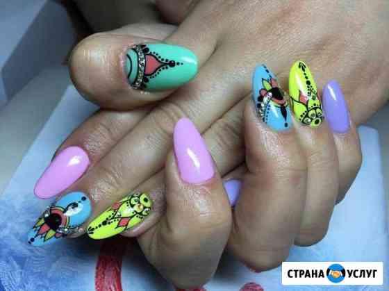 Наращивание ногтей, маникюр, гель-лак, укрепление Кострома