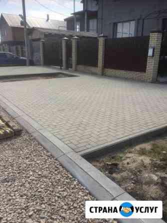 Укладка тротуарной плитки Иваново