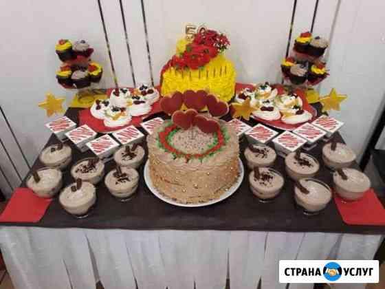 Выпечка, торты на заказ как идея для подарка Красноярск
