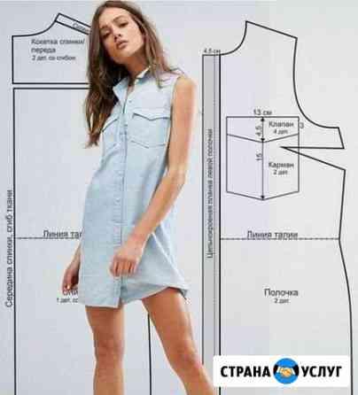 Выкройка одежды Воронеж