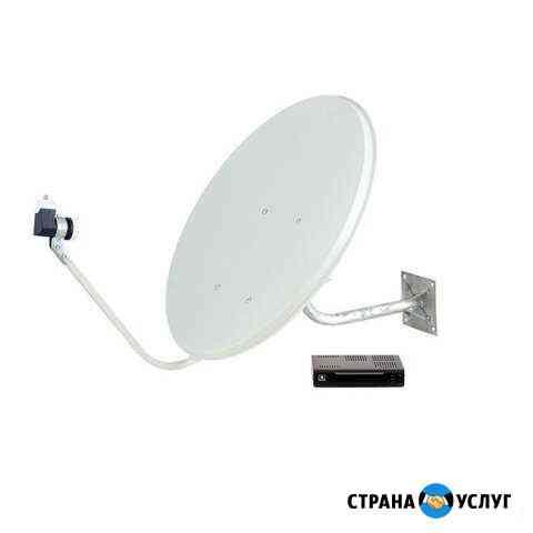 Установка и настройка спутникового и цифрового тв Самара