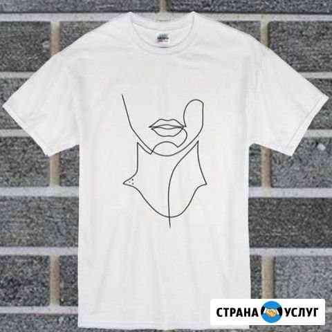 Рисунки на футболках под заказ ручной работы Киров