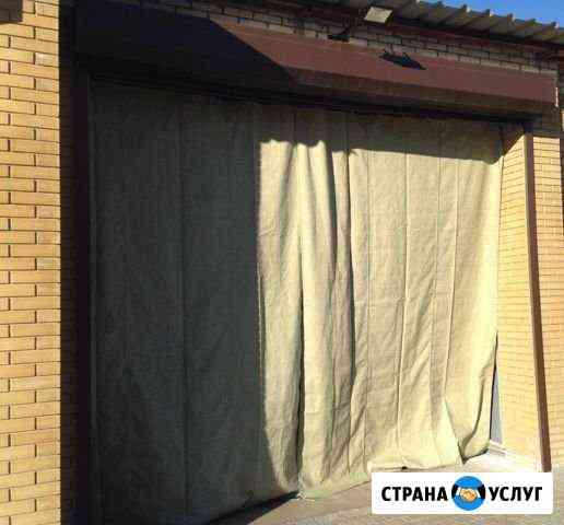 Шторы брезентовые, шторы гаражные Томск
