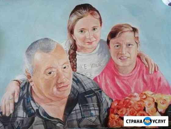 Портреты по фотографии Бердск