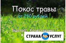 Покос травы Калязин