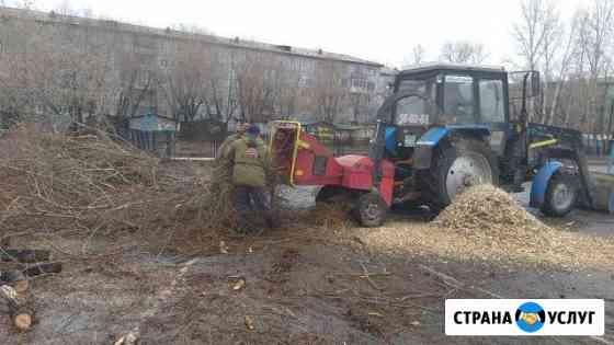 Измельчитель веток Омск
