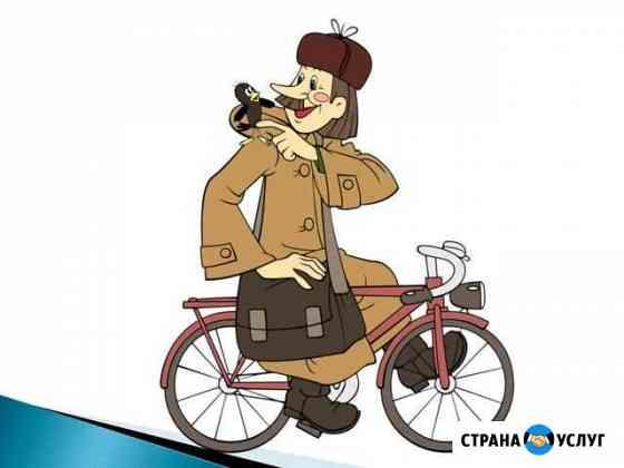 Пеший курьер каждый день Санкт-Петербург