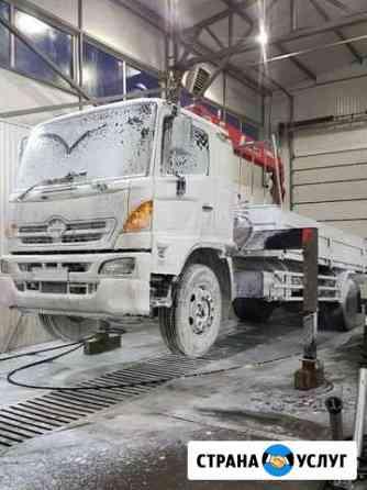 Химчистка грузового автомобиля и спецтехники Казань