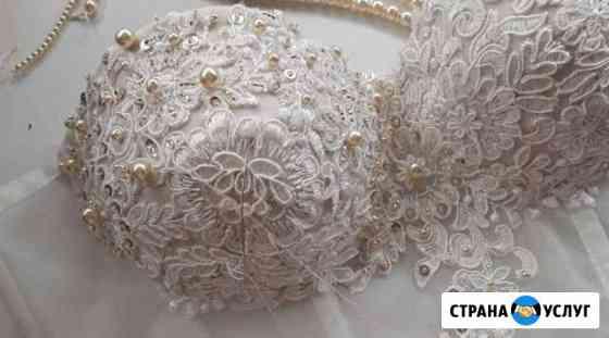 Свадебное платье. Вышивка. Пошив. Таганрог Ростов Таганрог