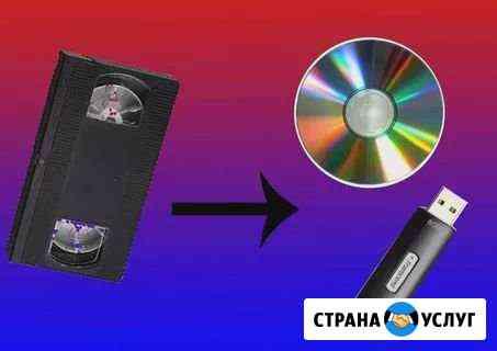 Оцифровка видеокассет Яблоновский