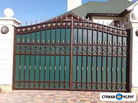Изготовление откатных и распашных ворот Дубовое