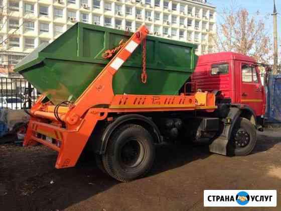 Вывоз мусора Контейнер (лодка) 8 м.куб, 4 тонны Владимир
