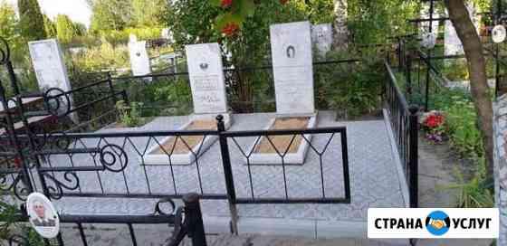 Благоустройство мест захоронений Йошкар-Ола