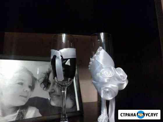 Оформление бутылок, букетов и аксессуаров Томск