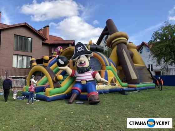 Аренда батутов Калининград