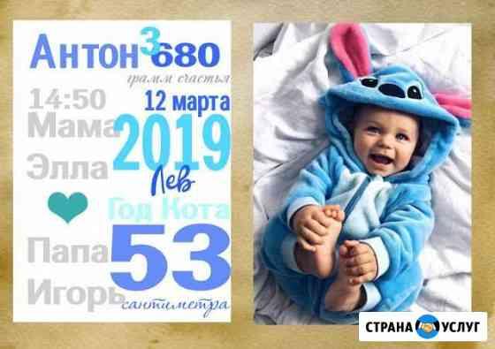 Метрика на заказ Нижний Новгород