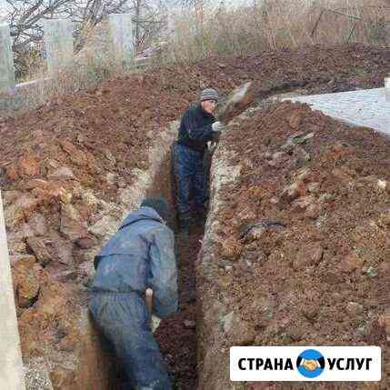 Землекопы, земельные работы Белогорск