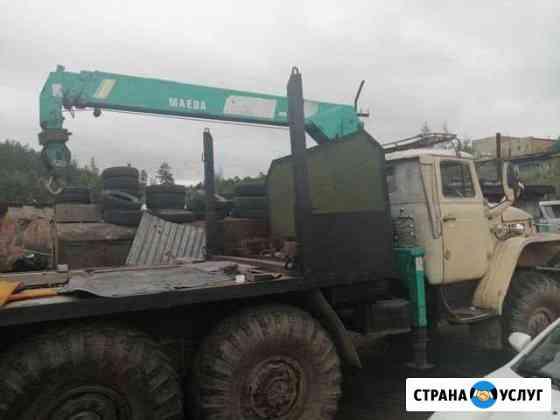 Услуги Урала лесовоза с кму Нерюнгри