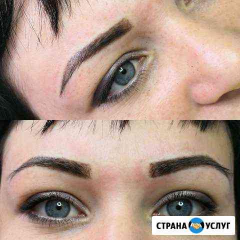 Перманентный макияж бровей Ливны
