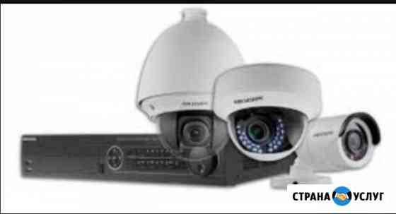 Устновка камер под ключ видеонаблюдение в Махачкал Махачкала