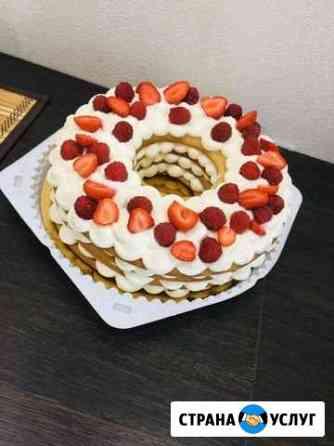 Домашние торты на заказ Омск