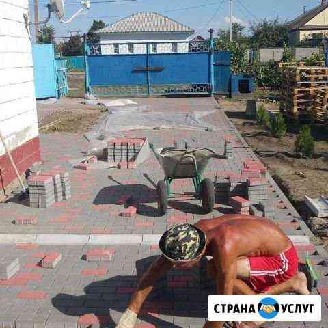 Брусчатка тротуарная плитка Ижевск