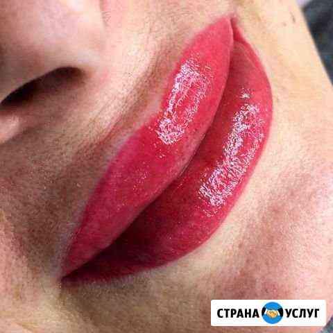 Перманентный макияж - Губки, брови, глаза(стрелка Мурманск