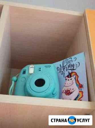 Аренда фотоаппарата моментальной печати instax min Саратов