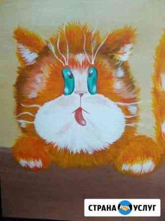 Картины в детскую коты на заказ Челябинск