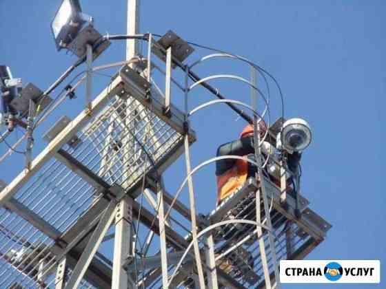 Видеонаблюдение, монтаж систем безопасности Архангельск
