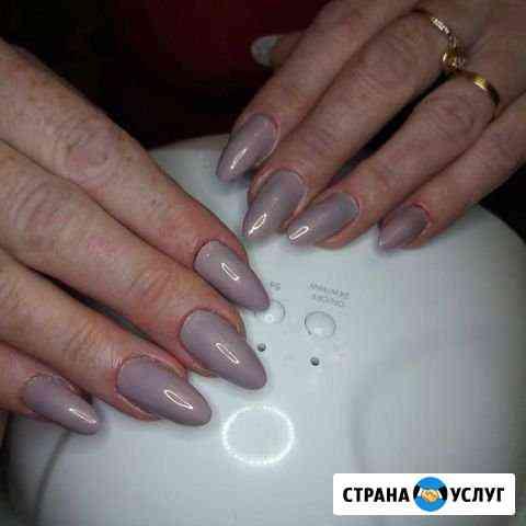 Услуги по наращиванию ногтей и ресниц Прохладный
